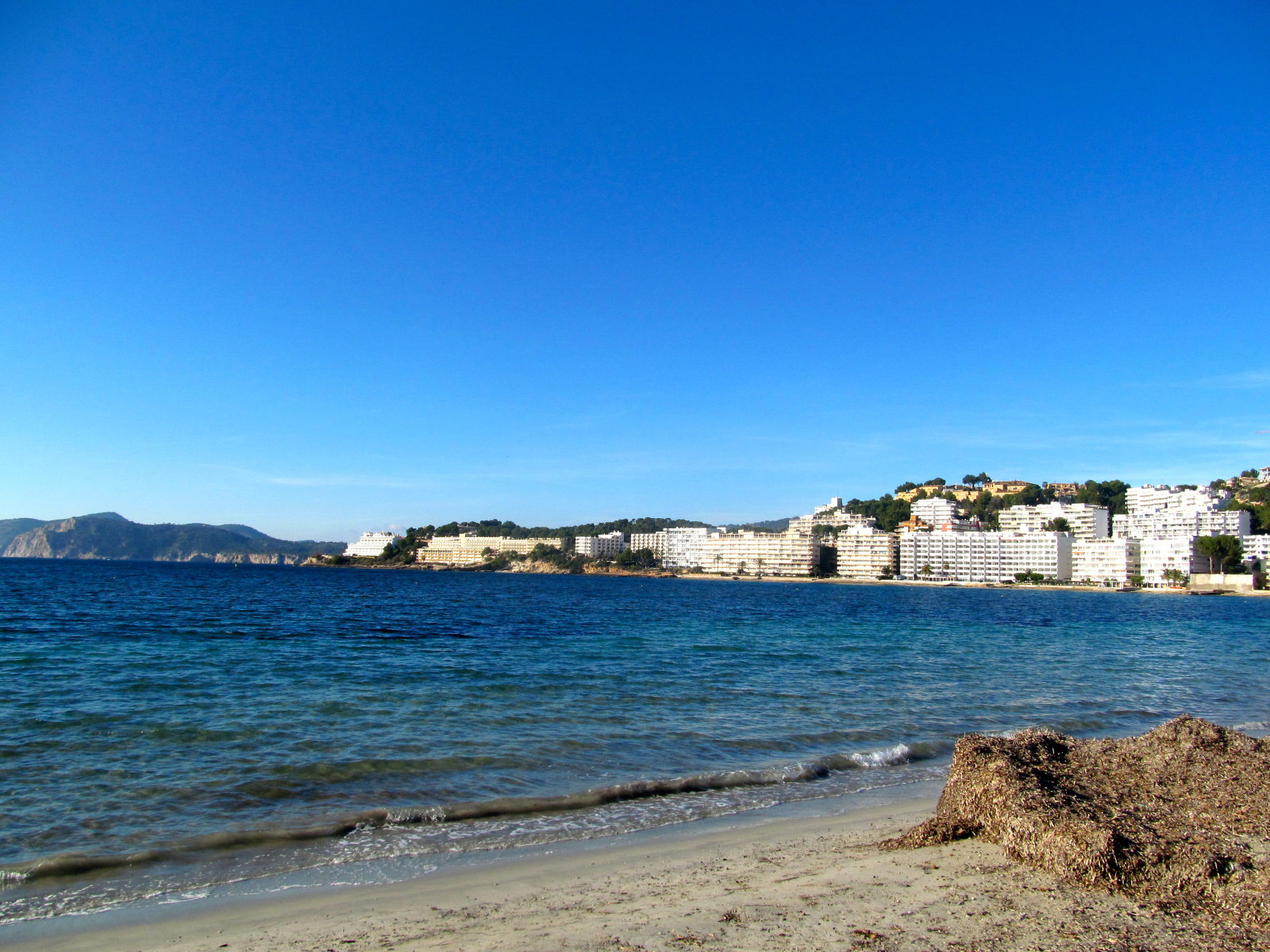 Our Neighborhood Tourist Beach in Majorca, Spain