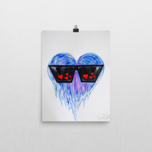 Never Too Cool For Love Poster