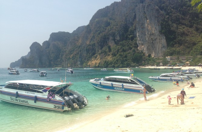 A Spontaneous Trip to Phi Phi Islands